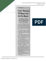 The Daily Tar Heel Wed Jan 24 1951 (News 4th Cir Appeal)