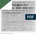 The Daily Tar Heel Fri Mar 23 1951
