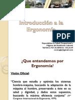 Introduccion a La Ergonomia