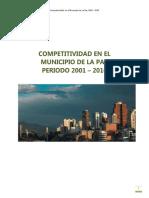 Competitividad en el municipio de La Paz 2001-2010