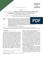 Harmonization of Magnetic Resonance-based Manual Hippocampal