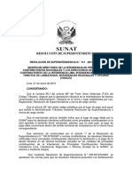 Resolución N° 011-2016-SUNAT