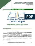 Aula0 Regimento Interno TE TRT23 96462