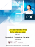 Redes Sociales - Educativas