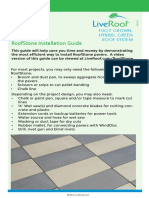 RoofStone Installation Guide