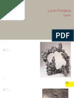 Obras de Lucio Fontana