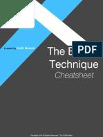 The Boom Technique Checklist SEO