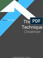 The 180 Technique Cheatsheet