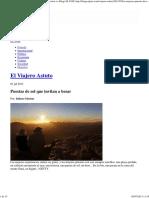 Puestas de Sol Que Invitan a Besar __ El Viajero Astuto __ Blogs EL PAÍS