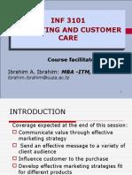 1.Marketing and Customer Care