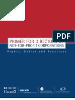 Primer 4 Directors Nfp