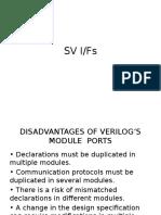 Sys Verilog Interface