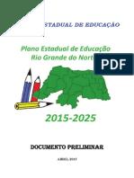 Plano Estadual de Educacao