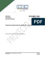 Norma INEN Fuel Oil Liviano