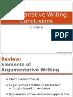 6 presentation argconclusion