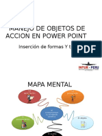 Manejo de Objetos de Accion en Power Point Prartica
