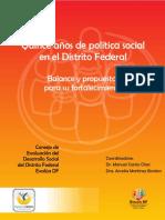 Quince Años de Política Social EVALUA DF