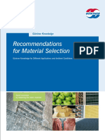 Guentner Material Selection 2011 English