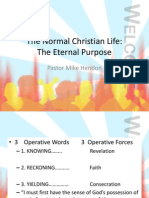 The Normal Christian Life.pptxeternal Purpose