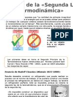 POSTULADOS DE LA SEGUNDA LEY DE TERMODINAMICA