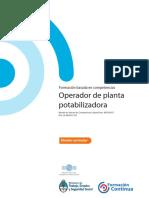 DC OBRAS SANITARIAS Operador de Planta Potabilizadora