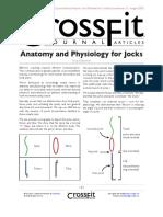 Anatomy and Physiology for Jocks
