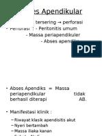 abses apendikular