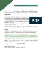 Decreto 301 de 2002 - Acreditacion Normales