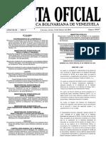 Gaceta Oficial Número 40.847 de la República de Venezuela, 12 de febrero de 2016