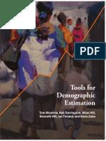 manual de estimaciones demográficas
