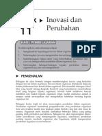 Topic 11 Inovasi Dan Perubahan