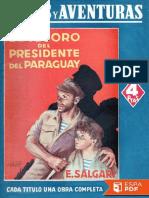 El Tesoro Del Presidente Del Pa - Emilio Salgari