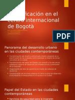 Gentrificación en El Centro Internacional de Bogotà