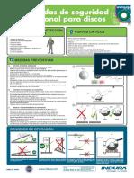 Disco Cortes Prevencion SEC