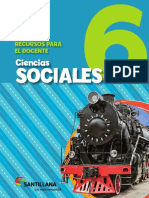 Ciencias Sociales 6 en Movimiento