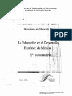 La Educ en El Desarrollo His de Mexico i
