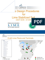 2009 Workshop Mix Design Procedures for Lime Stabilized Soil