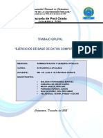 Ejercicios de Estadistica Base de Datos Computacional