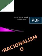 Racionalismo y Empirismo 2014