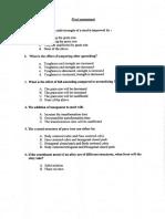 CSWIP 3.1 Question