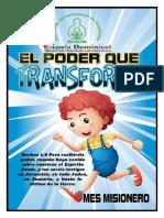 Mes Misionero 2015 El Poder Que Transforma