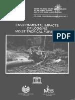 Impacto Ambiental de La Deforestación