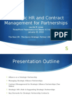 Strategic HR & Contract Management for Partnerships