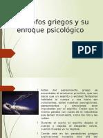 Filósofos Griegos y Su Enfoque Psicológico