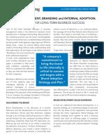 Brand Development Cohn Marketing Whitepaper