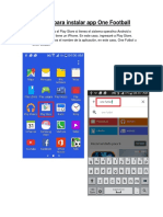 Tutorial para instalar app One Football.pdf