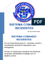 Sistema Comando Incidentes Psf