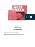 Tan Malaka - Aksi Massa
