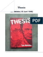 Tan Malaka - Thesis