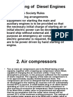 Air Starting of Diesel Engines